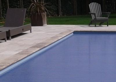 Maatwerk zwembadrand